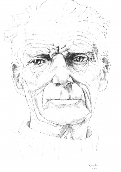 Samuel Beckett by rb232